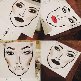 О макияже: Коррекция формы лица