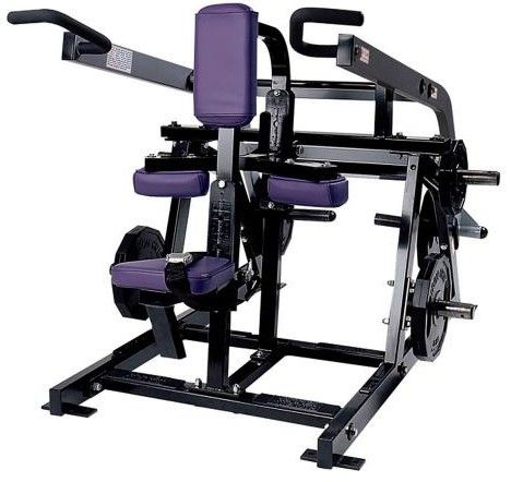 Hammer Strength Seated Dip Plate Loaded: The Plate-Loaded Seated Dip allows exercisers to perform the exercise… #fitnessequipment #homegym