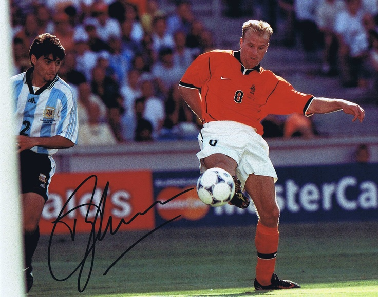 "Dennis Bergkamp. ""Iceman"".....remember this"