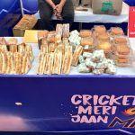 Sandwiches at Mumbai's Wankhede Stadium
