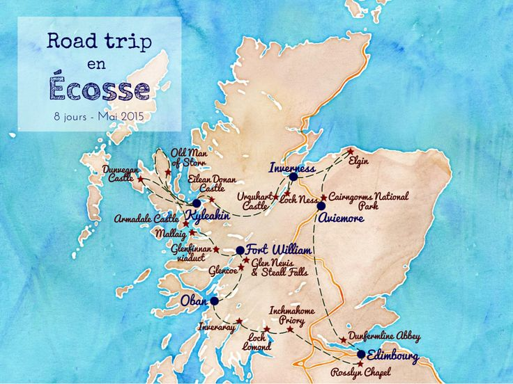 road trip Écosse scotland voyage Edimbourg Edinburgh