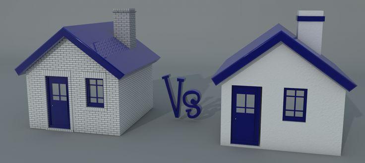 Brickwork or Rendered House