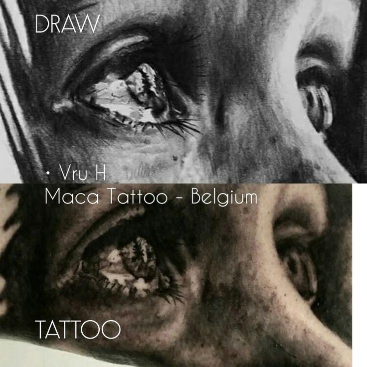 Draw and tattoo done at @macatattoobelgium Thank you @electric_sidney, @tattooartproject, @centralcityinkmagazine  #macatattoobelgium #centralcityinkmagazine #cciproteam #tattooartproject #realistictattoo #belgiumtattoo #electricsidney #wavre #belgiumart #belgiumtattooartist #belgiumink #best_ink_tattoos #besttattooartist #fkirons #pantheraink #truegrips #elementtattoosupply #cheyennetattooequipment #stencilstuff #wordfamousink