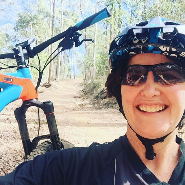 #veryhappy today. 😄🎉 First time out on the #mountainbike trails in 6 mths! Thanks to this phenomenal machine, the #haibike AllMtn I enjoyed every bit (even the steep hills!) #lovemybikes #loveriding #lifeisbetternow #cyclingbrisbane #brisbanecyclist #dirtdiva #toowoomba #ipswich #sunshinecoast #goldcoast #electric #electricbike #ebike