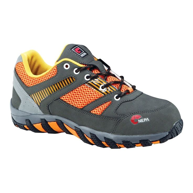 nepa Women's GT204o Safety Steel Toe Cap Nubuck/Mesh Hiking Boots -- Click on the image for additional details.
