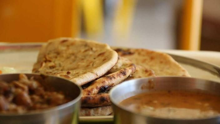 Kids won't eat spiced food? Trick them in to it with homemade chapati : SBS Food