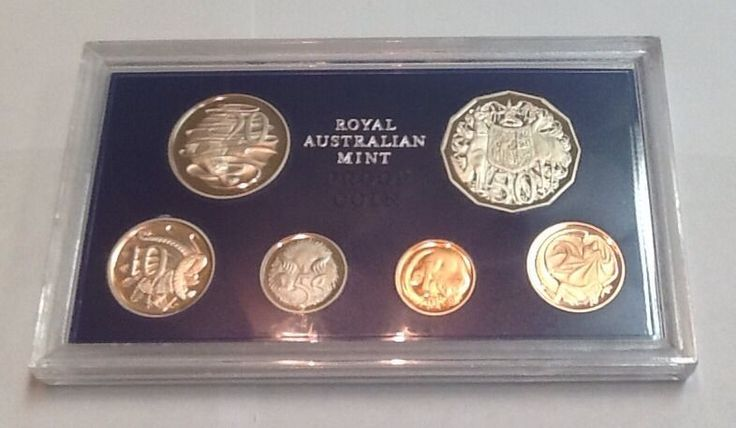 Vintage 1981 Uncirculated Australian Proof Coin Collection