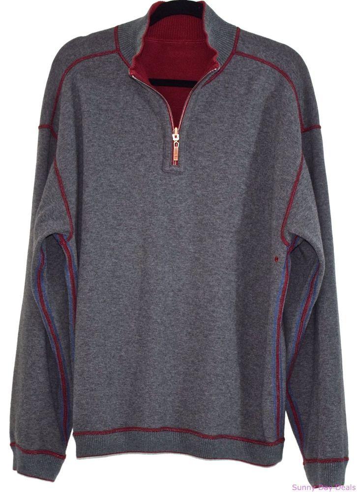 Men Half Zip Sweater