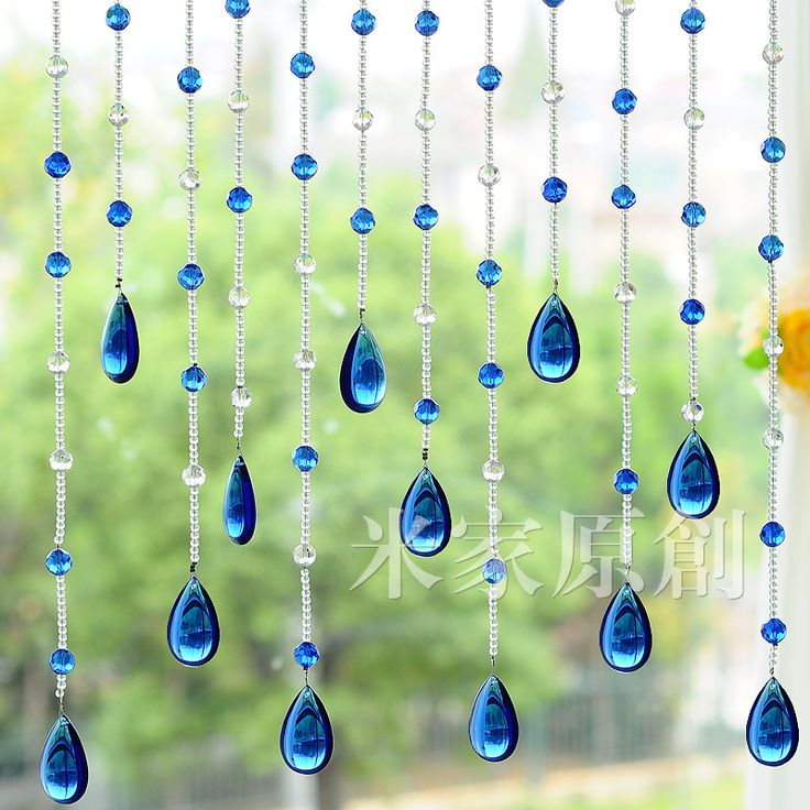 Encryption finished products curtain k9 crystal beads curtain entranceway