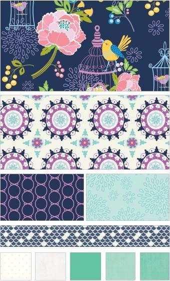36 besten Riley Blake Stoff/Fabric Bilder auf Pinterest | Stoffe ...