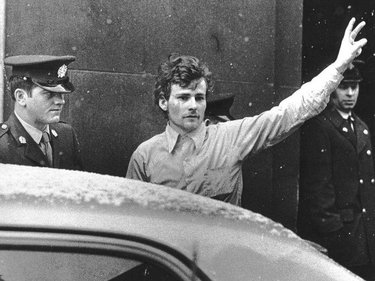 October Crisis. 1970. Jacques Rose being charged in connection with 1970 October Crisis.  AUSSIE WHITING/MONTREAL GAZETTE