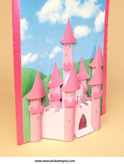 Como hacer un castillo de princesas
