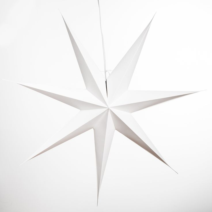 Best  Paper Star Lights Ideas On   Star Lanterns