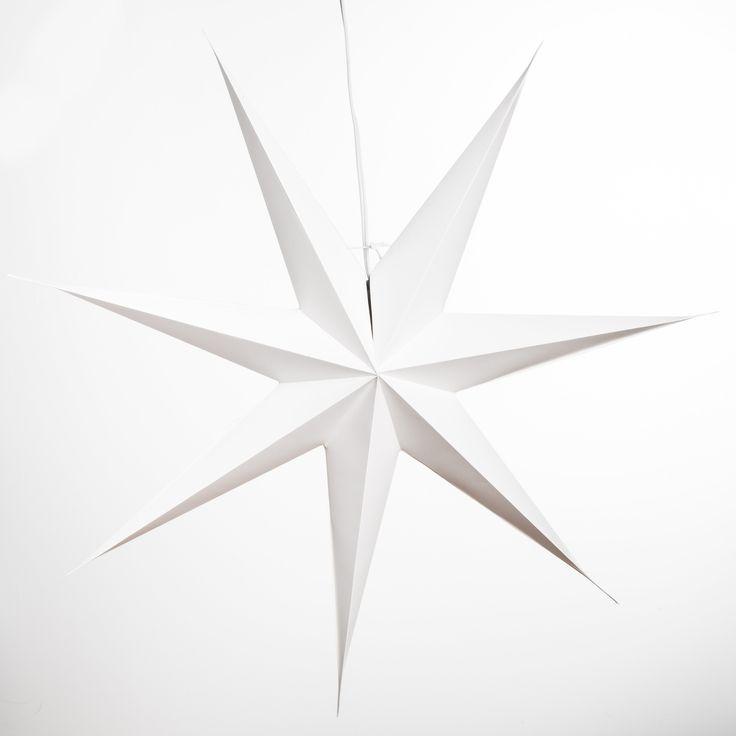 Best  Paper Star Lights Ideas On   Star Lanterns