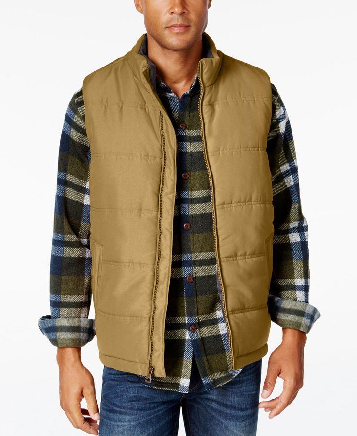 Weatherproof Vintage Men's Puffer Vest, Classic Fit