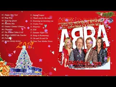 Weihnachten 2019 Musik.Abba Abba Christmas Songs 2019 Happy New Year 2019 Youtube
