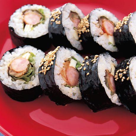 屋台風キンパ | コウ静子さんのごはんの料理レシピ | プロの簡単料理レシピはレタスクラブニュース