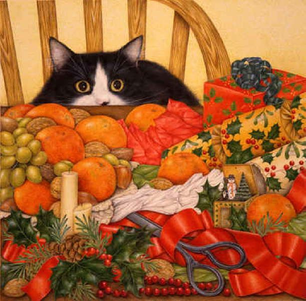 Google Image Result for http://catsfineart.com/assets/images/cats/ChristmasCats/db_Christmas_Feast__Anne_Mortimer1.jpg