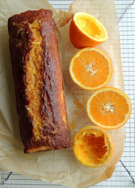 Appelsin-yoghurt kage