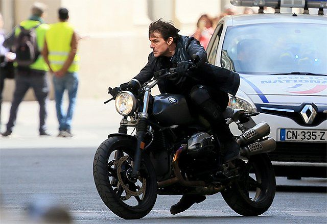 See Tom Cruise Stunts in Mission: Impossible 6 Set Photos   See Tom Cruise stunts in Mission: Impossible 6 set photos  ComingSoon.net has some awesome set photos from the Paris France location shoot of Mission: Impossible 6 (working title Gemini). Check out the set photos in our gallery below featuring some cool Tom Cruise stunts and the return of Sean Harris Rogue Nation bad guy Solomon Lane!  The upcoming sequel fromParamount Pictures and Skydance will see the return of Tom Cruise as Ethan…