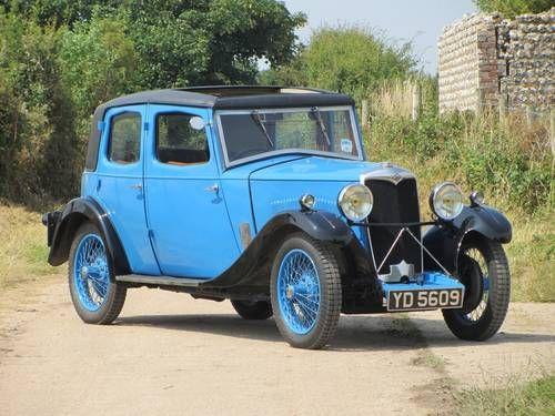 1932 Riley 9 Monaco Saloon