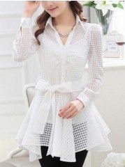Delightful  Cotton  Blouse With Cami