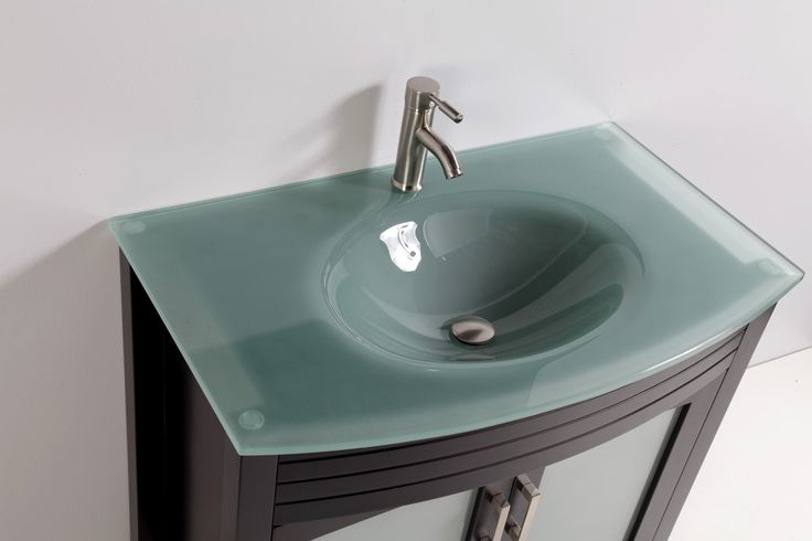 Love This Tempered Glass Sink Home Is Where The ️ Is