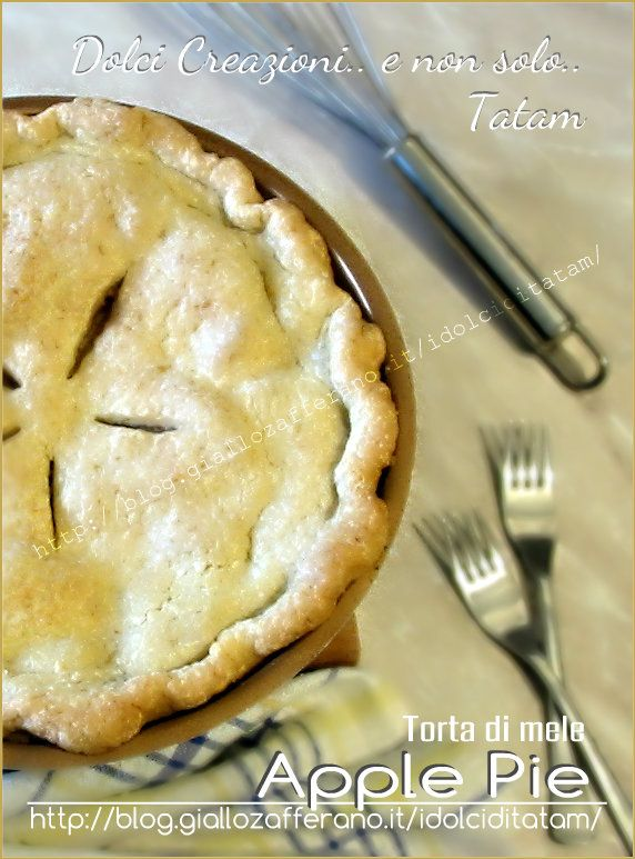 Apple pie - Torta di mele americana