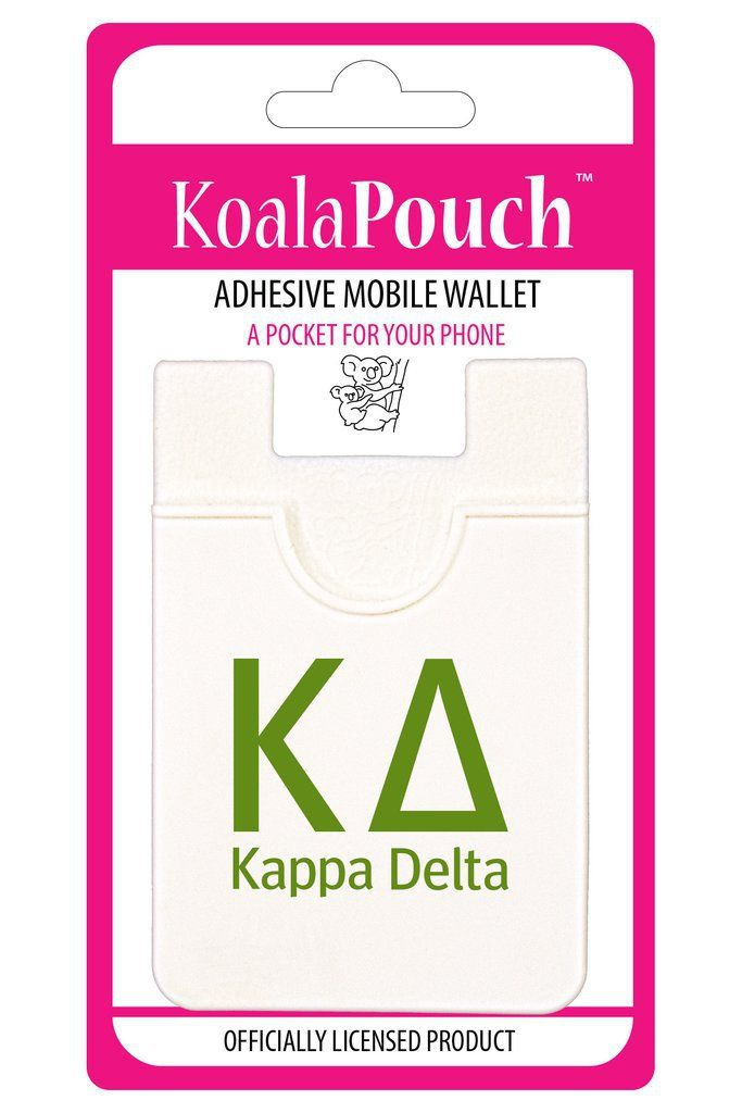 Kappa Delta Sorority Koala Pouch - Brothers and Sisters' Greek Store