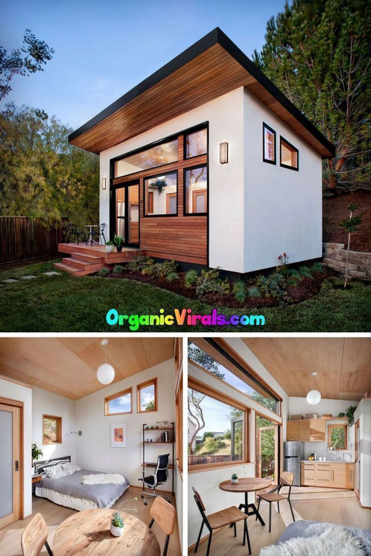 Why Tiny Homes Are Hugely Amazing By This Point Photos Of Tiny Houses Are Everywhere I D Be Su Prefab Tiny House Kit Cottage House Designs Backyard Cottage
