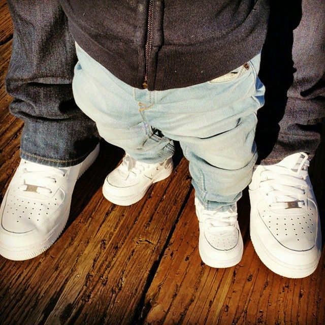 Father And Son Matching Shoes Free Images