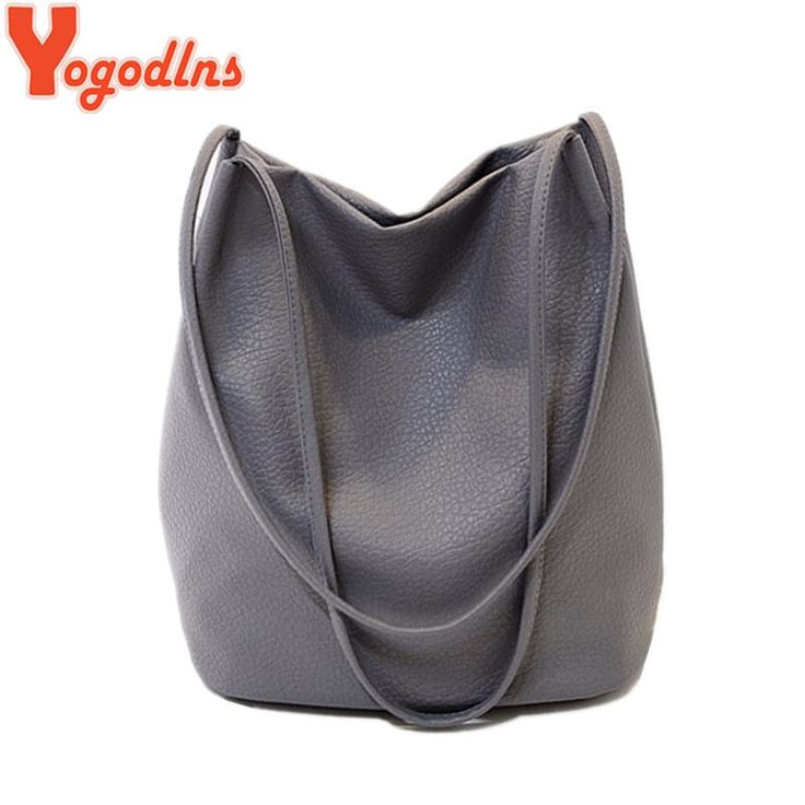 Women's  Leather Shoulder Large Capacity Shopping Handbag //Price: $17.95 & FREE Shipping //     #fashion