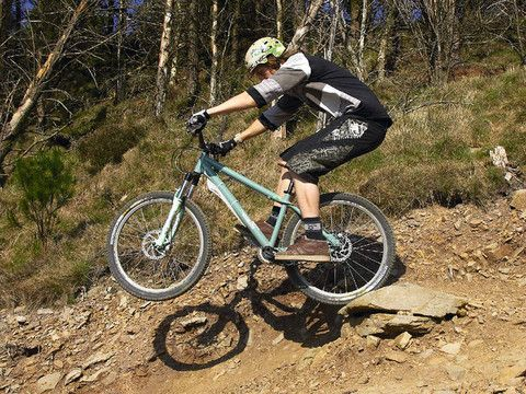 """""""Basically, if you can't ride a hardtail smoothly, then riding a full suspension bike is going to be a waste of time. On a full suspension bike you can get lazy. Hardtails teach you everything about riding mountain bikes."""""""