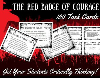 5 paragraph essay on the red badge of courage The red badge of courage by stephen crane is an anti-war novel the novel, based on the chancellorsville battles, the american civil war is a classic.