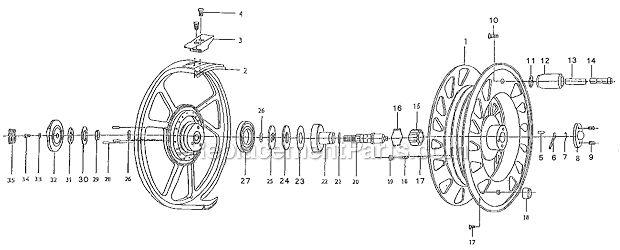 pflueger 2012 parts list and diagram   ereplacementparts