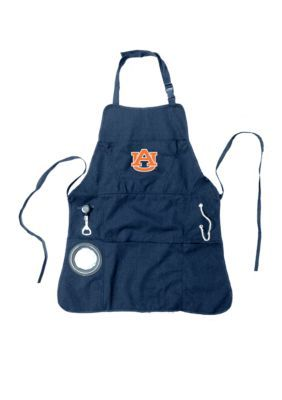 Team Sport America Men's Auburn University Mens Apron - Blue - One Size