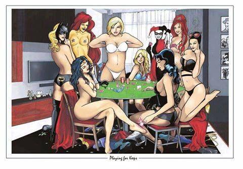 Adult cartoon strip poker