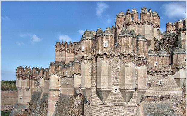 Castelo de Coca, Espanha: Belo Castelo, De Coca, Castle, Espanha