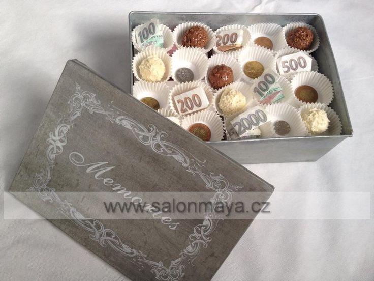 Výsledek obrázku pro darování peněz na svatbě