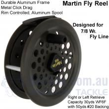 Buy Online #MartinFlyReel | Australia – Marinews Fishing Tackle Shop. www.marinews.com/tackleshop/products/Martin-Fly-Reel.html#.VH64xlKNiN0.friendfeed