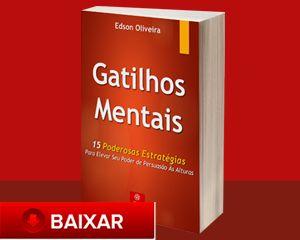 Os gatilhos mentais são atalhos utilizados pelo nosso cérebro para tomar determinadas ações, eles são extremamente poderosos e influenciam qualquer pessoa, mesmo que ela conheça todos os gatilhos.