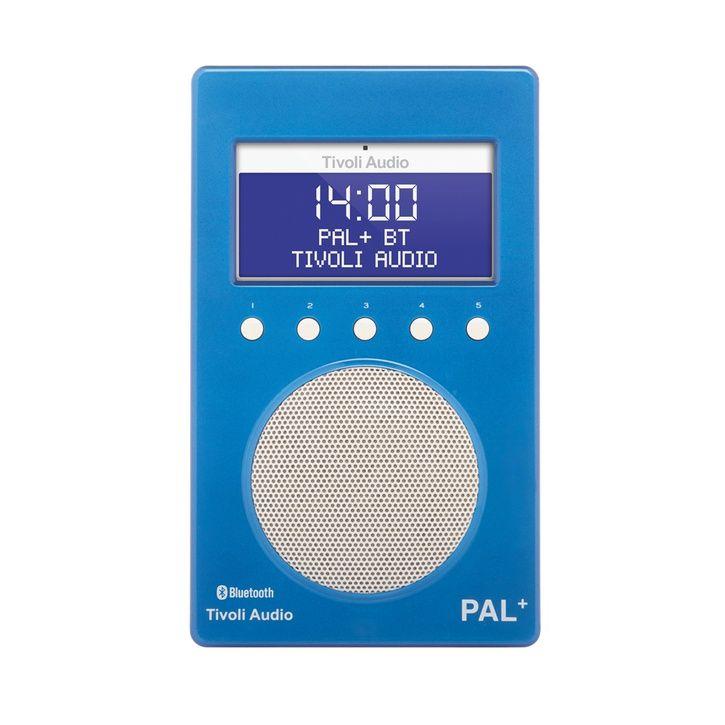 Tivoli Audio PAL+ BT Portable DAB Radio, Blue/White | Prezola - The Wedding Gift List