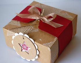 UK Independent Stampin' Up! Demonstrator - Julie Kettlewell: Gift Box Punch Board make