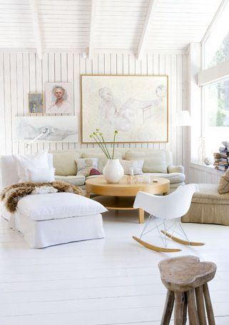 modern scandinavian country living room