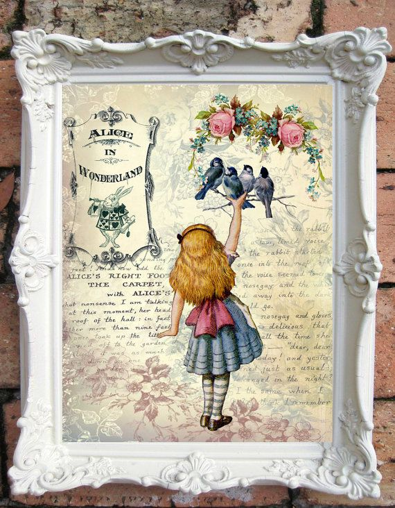 Alice In Wonderland Quote Art Print Alice In By