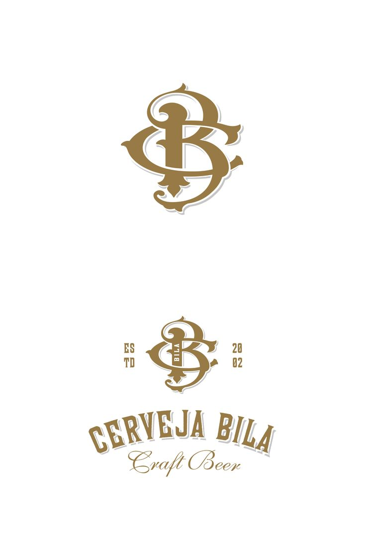 A monogram and brand identity design for craft beer brand in Portugal