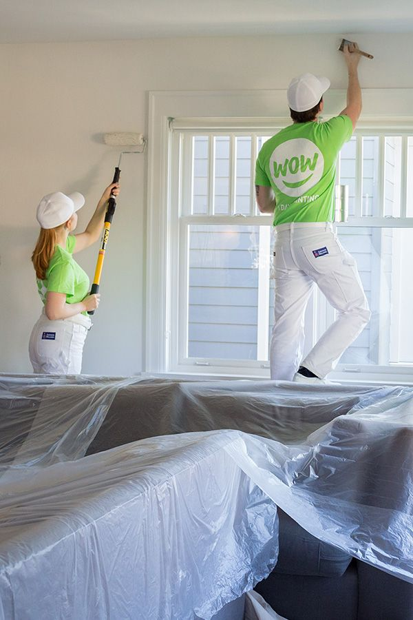 Wow 1 Day Painting Takes The Hassle Out Of Painting By Giving You The Quality You Expect In A Timeline That S Unexpect House Paint Interior Neutral Colors Exterior Paint