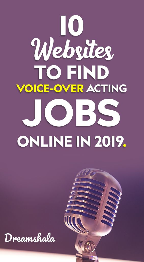 10 Legit Ways To Earn Through Online Voice Acting Jobs Dreamshala Online Jobs The Voice Voice Acting