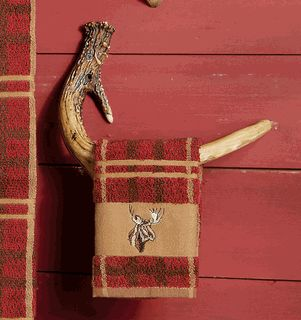 Faux Antler Towel Hook- Master Bath