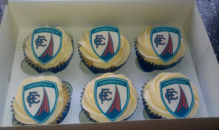 Chesterfield fc cupcakes